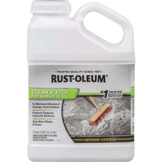 Rust-Oleum Concrete Clean & Etch Ready-To-Use, 1 Gal.